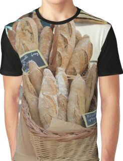 French bread by ProvenceProvence  Graphic T-Shirt