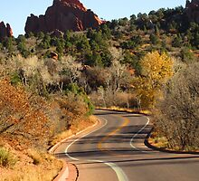 Deep in the heart of Garden of the Gods... Colorado Springs by dfrahm