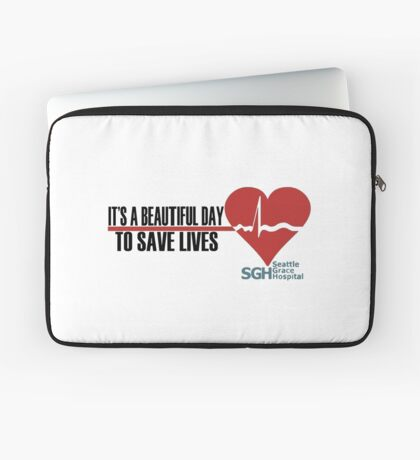 Grey's Anatomy - It's a Beautiful Day to Save Lives Laptop Sleeve