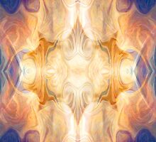 A Burst Of Light Abstract Pattern Artwork by owfotografik