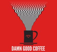 Damn Good Coffee | Twin Peaks Poster Kids Clothes