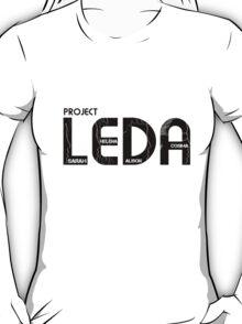 ORPHAN BLACK PROJECT LEDA T-Shirt