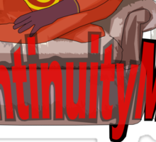 continuityman Sticker