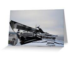 Jaguar SSK 100 Greeting Card
