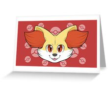 Fennekin Greeting Card