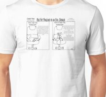 Cement Farm Comic Big Fat Pancake is an Evil Genius Unisex T-Shirt