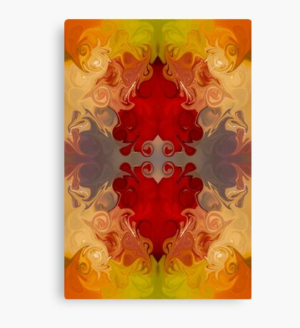 Passionate Explosions of Colorful Reality Canvas Print