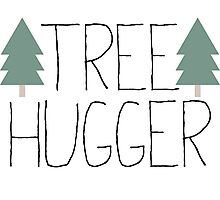 Tree Hugger - TREEHUGGER Photographic Print