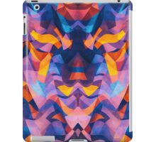 Abstract Surreal Chaos theory in Modern Blue / Orange iPad Case/Skin