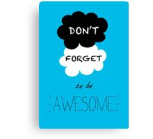 DFTBA - TFIOS - Nerdfighters  Canvas Print
