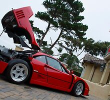 Home of the F40 by Timothy  Iverson Auto Photography