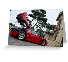 Home of the F40 Greeting Card