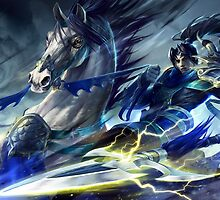 LEAGUE OF LEGENDS XIN ZHAO by lustfultacos