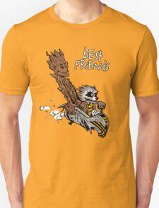 Raccoon and Tree Unisex T-Shirt