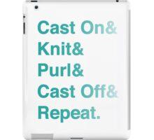 Knitting Addict - Yarn Hoarders & Needlecrafters Unite! iPad Case/Skin
