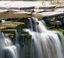 Top Of The Lower Ball's Falls by Gary Chapple
