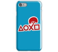 PlayStation Button Icons LBP Style iPhone Case/Skin