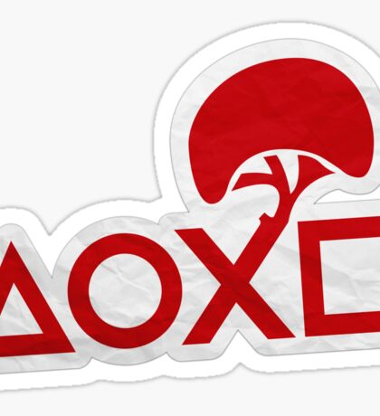 PlayStation Button Icons LBP Style Sticker