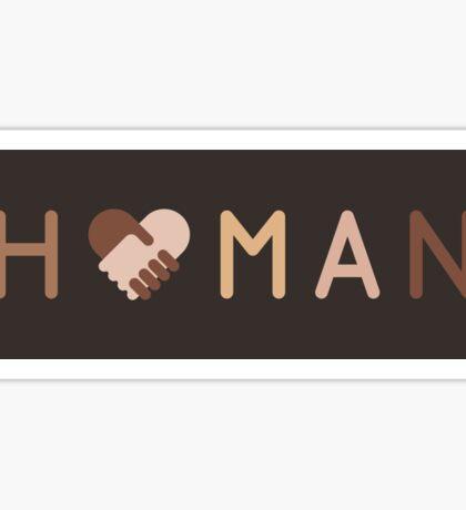 H U M A N : 1 Sticker