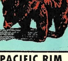 Pacific Rim National Park BC Canada Vintage Travel Decal Sticker