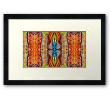 Great Spirit Abstract Pattern Artwork  Framed Print