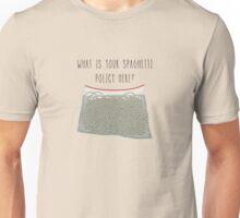 Spaghetti Policy Unisex T-Shirt
