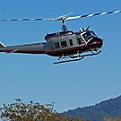 Huey Helicopter in motion by PrecisionHeli