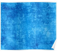 Distressed Azure Poster