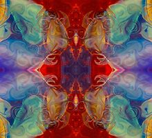 Dimensional Realities Abstract Pattern Artwork by owfotografik
