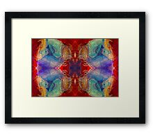 Dimensional Realities Abstract Pattern Artwork Framed Print