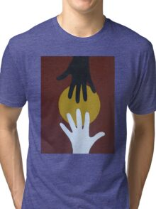 Helping Hands Two Tri-blend T-Shirt