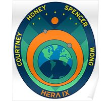 HERA IX Patch Poster