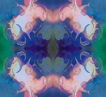 Merging Fantasies Abstract Pattern Artwork by owfotografik