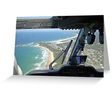 BK-117 Coffs Harbour Greeting Card