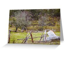 Remnants from the Past - Hill End Greeting Card