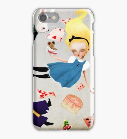 Alice and the hatter iPhone Case/Skin