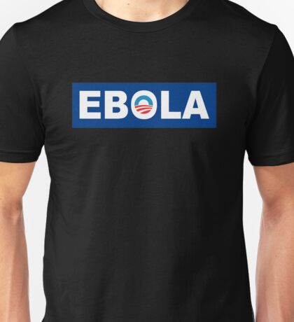 Obama Ebola Spoof Unisex T-Shirt