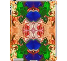 Merging Consciousness With Abstract Artwork iPad Case/Skin
