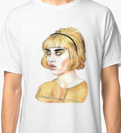 Yellow Girl Classic T-Shirt