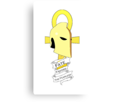 Dr. Fate Favors the Fearless Shirt Canvas Print