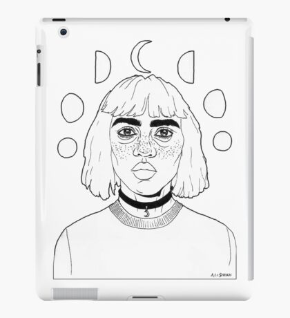 Moon Girl iPad Case/Skin