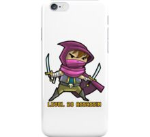 Level 20 Assassin iPhone Case/Skin