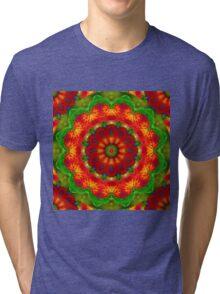Feather Mandala 2 Tri-blend T-Shirt