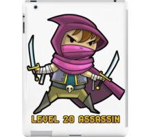 Level 20 Assassin iPad Case/Skin