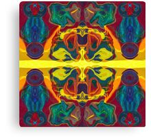 Cosmic Designs Abstract Pattern Artwork Canvas Print