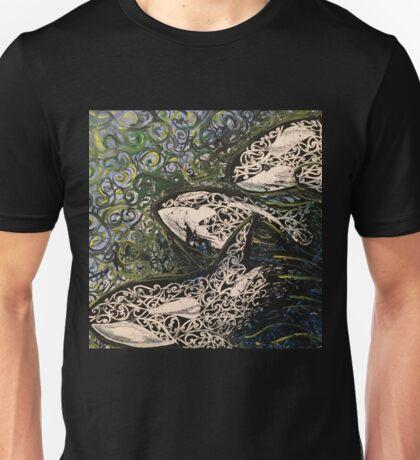 Koru Whales Unisex T-Shirt