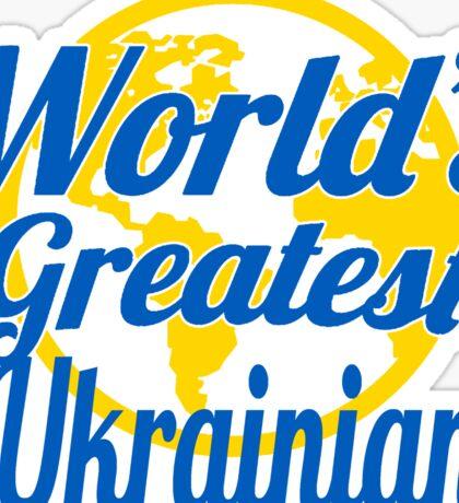 World's Greatest Ukrainian Sticker