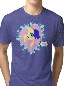 Kawaii Fluttershy Tri-blend T-Shirt