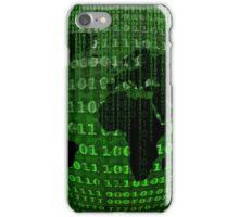 Matrix Inspired World Map iPhone Case/Skin