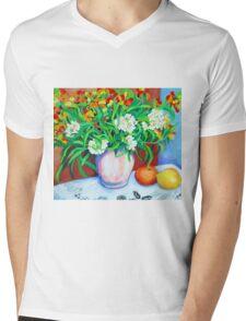 Citrus Still Life Mens V-Neck T-Shirt